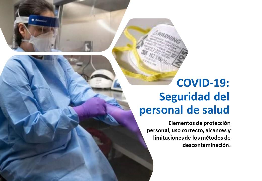 COVID-19: Seguridad del personal de Salud (Septiembre)